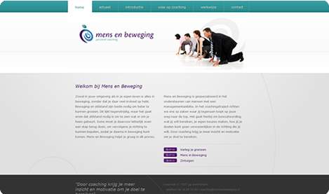 Website Mens en Beweging