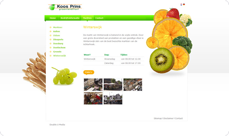 website Koos Prins