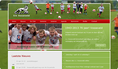 Website V.V. Vosseveld